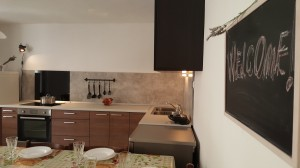 sommer apt Pinezici Krk kitchen