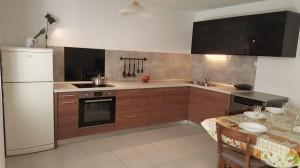 sommer apt Pinezici Krk kitchen 1