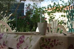 sommer apt Pinezici Krk terrace